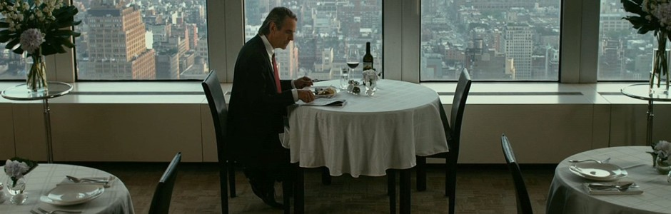 Jeremy Irons Having Lunch